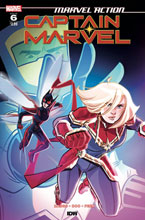 Image: Marvel Action: Captain Marvel #6 (cover A - Boo) - IDW Publishing