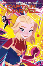 Image: Marvel Action: Captain Marvel #6 (incentive 1:10 cover - Baldari) - IDW Publishing