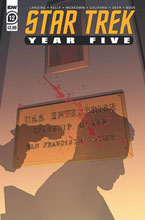Image: Star Trek: Year Five #12 (cover A - Thompson) - IDW Publishing