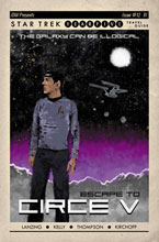 Image: Star Trek: Year Five #12 (incentive 1:10 cover - Lendl) - IDW Publishing
