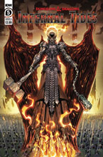 Image: Dungeons & Dragons: Infernal Tides #5 (cover A - Dunbar) - IDW Publishing