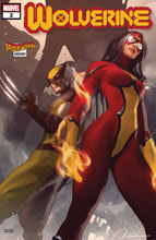 Image: Wolverine #2 (DX) (variant Spider-Woman cover - Parel) - Marvel Comics