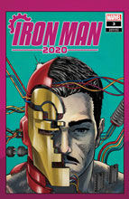 Image: Iron Man 2020 #3 (variant Heads cover - Superlog)  [2020] - Marvel Comics
