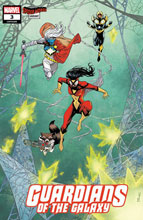 Image: Guardians of the Galaxy #3 (variant Spider-Woman cover - Shalvey) - Marvel Comics