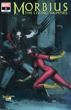 Image: Morbius #5 (variant Spider-Woman cover - Pyeong Jun Park) - Marvel Comics