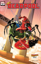 Image: Deadpool #5 (variant Spider-Woman cover - Andolfo) - Marvel Comics