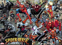 Image: Spider-Verse Art Adams Poster  - Marvel Comics