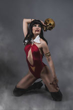 Image: Vampirella Vol. 05 #9 (incentive 1:25 cover - Cosplay virgin) - Dynamite