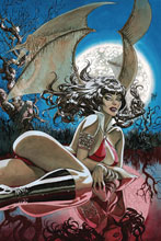 Image: Vampirella Vol. 05 #9 (incentive 1:40 cover - March virgin) - Dynamite