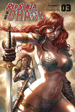 Image: Red Sonja: Age of Chaos #3 (cover B - Quah) - Dynamite