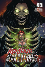 Image: Red Sonja: Age of Chaos #3 (cover C - Garza) - Dynamite