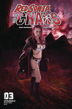 Image: Red Sonja: Age of Chaos #3 (cover E - Kingston Cosplay) - Dynamite