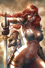 Image: Red Sonja: Age of Chaos #3 (variant cover - Quah virgin) - Dynamite