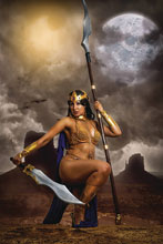 Image: Dejah Thoris Vol. 03 #4 (incentive 1:30 cover - Cosplay virgin) - Dynamite