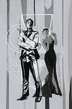 Image: James Bond #4 (incentive 1:10 cover - Richardson Greyscale) - Dynamite