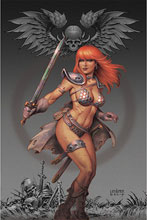 Image: Red Sonja #14 (variant cover - Linsner virgin) - Dynamite