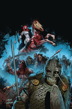 Image: Red Sonja #14 (incentive 1:15 cover - Gedeon Zombie virgin) - Dynamite