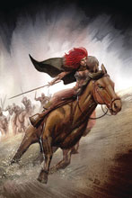 Image: Red Sonja #14 (incentive 1:40 cover - Bob Q virgin) - Dynamite