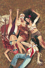 Image: Red Sonja and Vampirella Meet Betty and Veronica #10 (variant cover - Dalton virgin) - Dynamite