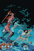 Image: Red Sonja and Vampirella Meet Betty and Veronica #10 (variant cover - Gedeon Virgin Zombie) - Dynamite
