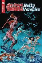 Image: Red Sonja and Vampirella Meet Betty and Veronica #10 (incentive 1:5 cover - Gedeon Zombie) - Dynamite