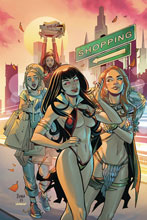 Image: Red Sonja and Vampirella Meet Betty and Veronica #10 (incentive 1:30 cover - Braga virgin) - Dynamite