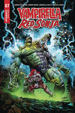 Image: Vampirella / Red Sonja #7 (incentive 1:5 cover - Gedeon Zombie) - Dynamite