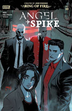 Image: Angel + Spike #10 (incentive 1:20 cover - Scharf) - Boom! Studios