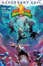 Image: Mighty Morphin Power Rangers #49 (cover A - Campbell) - Boom! Studios