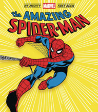 Image: My Mighty Marvel First Book Board Book: Amazing Spider-Man  - Abrams Appleseed