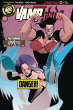 Image: Vampblade: Season 4 #11 (cover B - MacCagni risque) - Action Lab - Danger Zone