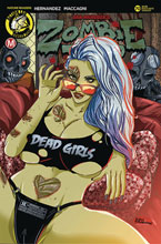 Image: Zombie Tramp #70 (cover C - Rudetoons Reynolds) - Action Lab - Danger Zone