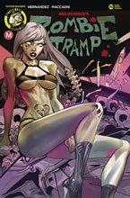 Image: Zombie Tramp #70 (cover E - Celor) - Action Lab - Danger Zone