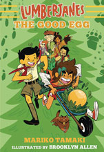 Image: Lumberjanes Illustrated Novel Vol. 03: Good Egg SC  - Amulet Books