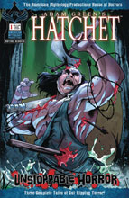 Image: Hatchet: Unstoppable Horror #1 (cover A - Carratu) - American Mythology Productions