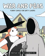 Image: War and Peas: Funny Comics for Dirty Lovers SC  - Andrews Mcmeel