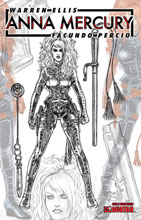 Image: Anna Mercury #2 (variant Design Sketch cover - Facundo Percio) - Avatar Press Inc