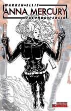 Image: Anna Mercury #3 (variant Design Sketch cover - Facundo Percio) - Avatar Press Inc