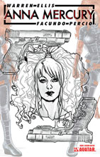 Image: Anna Mercury #5 (variant Design Sketch cover - Facundo Percio) - Avatar Press Inc