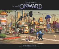 Image: Art of Onward HC  - Chronicle Books
