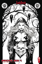Image: Lady Death: Apocalyptic Abyss #1 (variant cover - Raw edition) - Coffin Comics