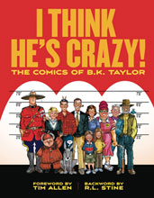 Image: I Think He's Crazy National Lampoon HC  - Fantagraphics Books