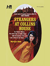 Image: Dark Shadows Paperback Library Novel Vol. 03: Strangers at Collins House  - Hermes Press