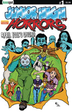 Image: Junior High Horrors: April Fools Special #1 (cover A - Gs X-Men Parody) - Keenspot Entertainment