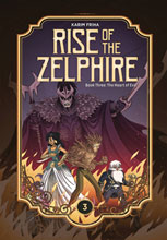 Image: Rise Zelphire Book 03: Heart of Evil HC  - Magnetic Press Inc.