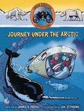 Image: Journey Under the Arctic HC  - Margaret K Mcelderry Books