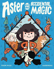 Image: Aster & Accidental Magic GN HC  - Random House Graphic