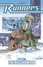 Image: Runners Vol. 02: Big Snow Job SC  - Serve Man Press