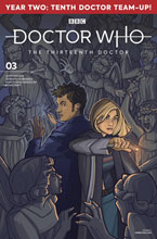 Image: Doctor Who: The 13th Doctor Season Two #3 (cover A - Hallion) - Titan Comics