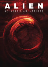 Image: Alien: 40 Years, 40 Artists HC  - Titan Books